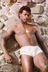 1984....the year Rickey stripped down to his chonies.