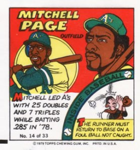 Mitchell Page R.I.P. (1951-2011)