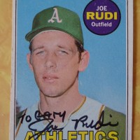 Watch out Josh Reddick! Joe Rudi was the original Spiderman.