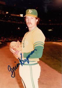Brian Kingman Oakland Athletics