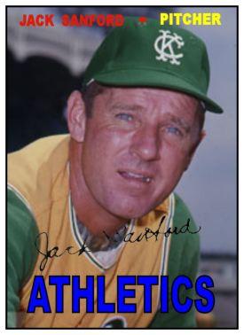 1967 Topps Jack Sanford