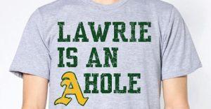 lawrie a hole shirt