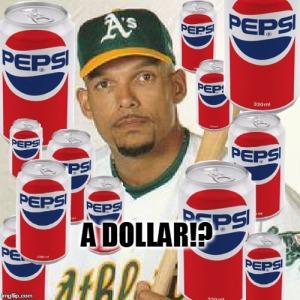 dave justice pepsi dollar