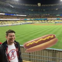 "Dodger Stadium and the ""all you can eat"" section."