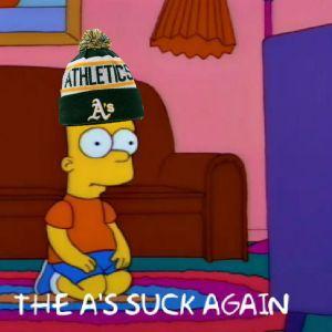 A's suck again 1