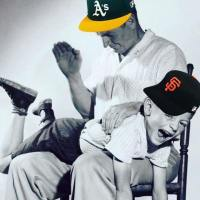 A's spank Giants and win 3 of 4.