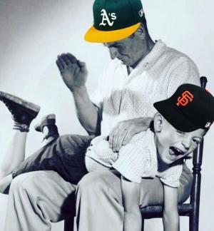 A's spank Giants.